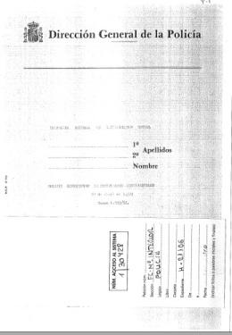 Comisaría General de Investigación Social, 23 de abril de 1974
